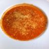 Hausgemachte Tomatensuppe mit Parmesan