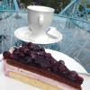 Blaubeer-Sahne-Torte