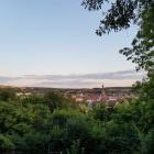 Foto zu Haus Gudesberg: Blick vom Gudesberg über St. Wendel