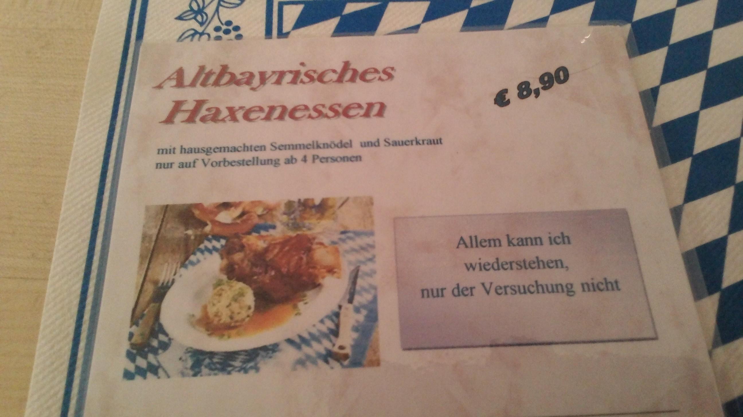 Chiemgau-Stüberl Gastro in 83250 Marquartstein