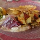Foto zu Deichrestaurant zur Spitze: Zur Spitze - Fischteller